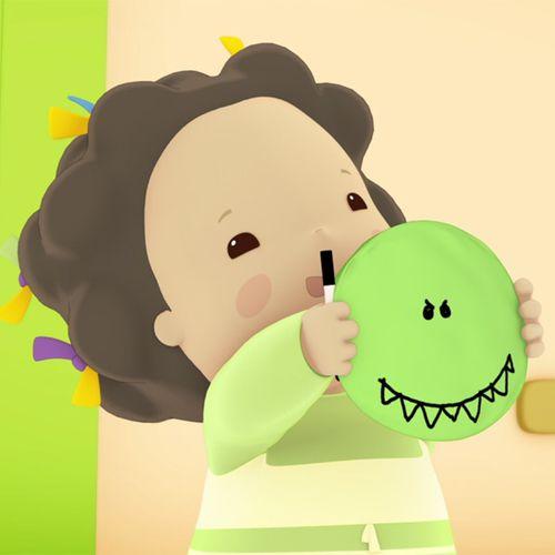 Emilie et le tyrannosaure-ballon | Domitille de Pressensé (auteur)