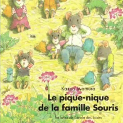 Le pique-nique de la famille Souris | Kazuo Iwamura (auteur)