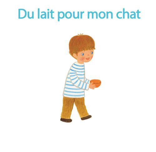 Du lait pour mon chat | Pascale Chénel (auteur)