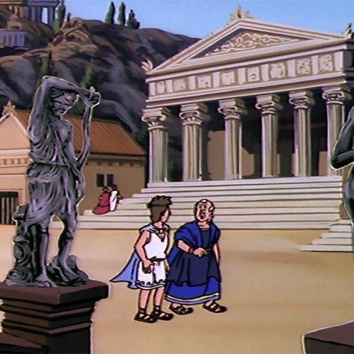 2. Archimède et les Grecs   Albert Barillé (directeur)