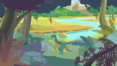 L'Anchisaurus | Camille Touaty  (auteur)
