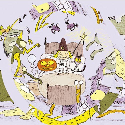 Puzzles de Zouk la petite sorcière — Vive la nuit | Serge Bloch (auteur)