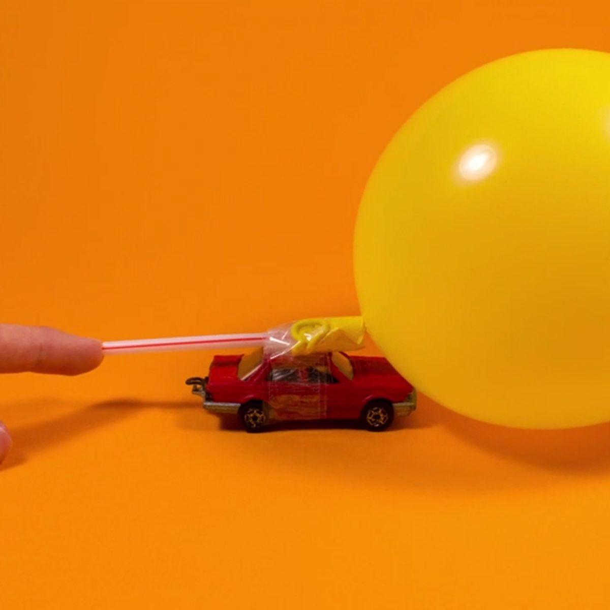 Comment fabriquer une voiture à réaction ? |
