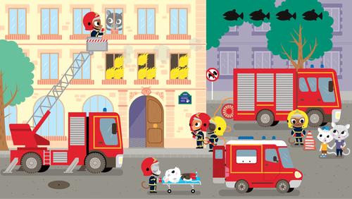 Le pompier | Florence Blanquart  (auteur)