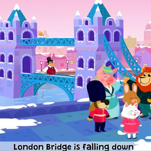 London Bridge is falling down | Coralie Vallageas (illustrateur)