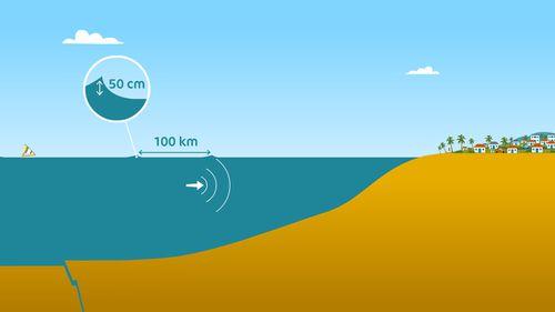 Alerte au tsunami en Indonésie | Sarah Barthère  (auteur)