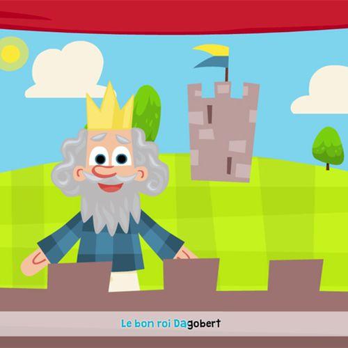Le bon roi Dagobert | Fabien Daphy (illustrateur)