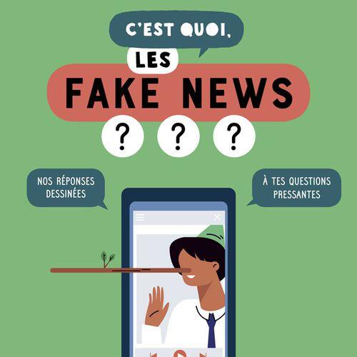 C'est quoi, les fake news ?   Sandra Laboucarie, Jacques Azam, Aurélie Verdon (auteur)