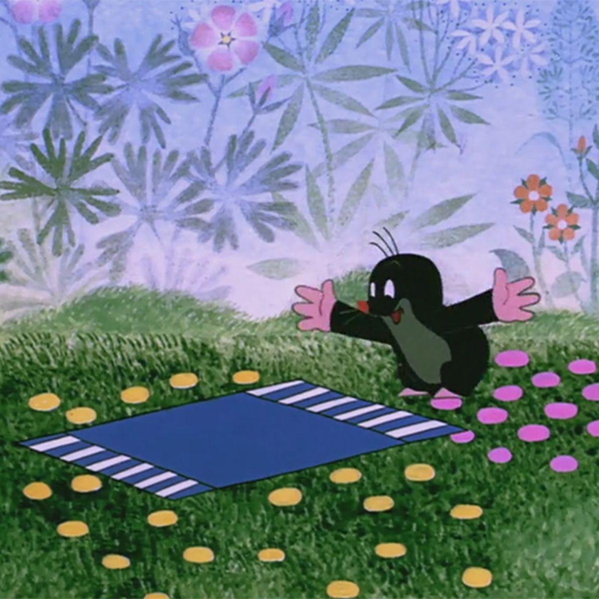 La petite taupe et le tapis |