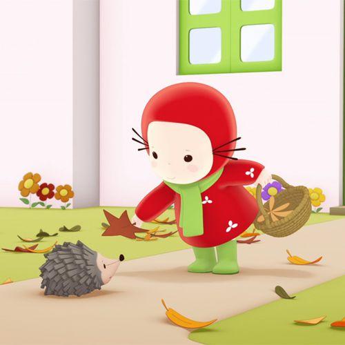 Emilie et les feuilles d'automne | Domitille de Pressensé (auteur)