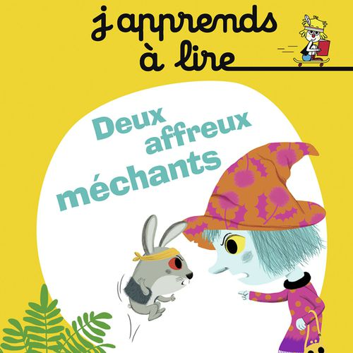 Deux affreux méchants | Stéphanie Guérineau (auteur)