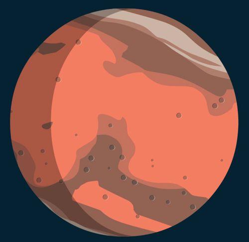 Mars | Prisca Baverey (illustrateur)