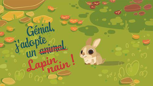 Génial, j'adopte un lapin !   Florence Blanquart  (auteur)