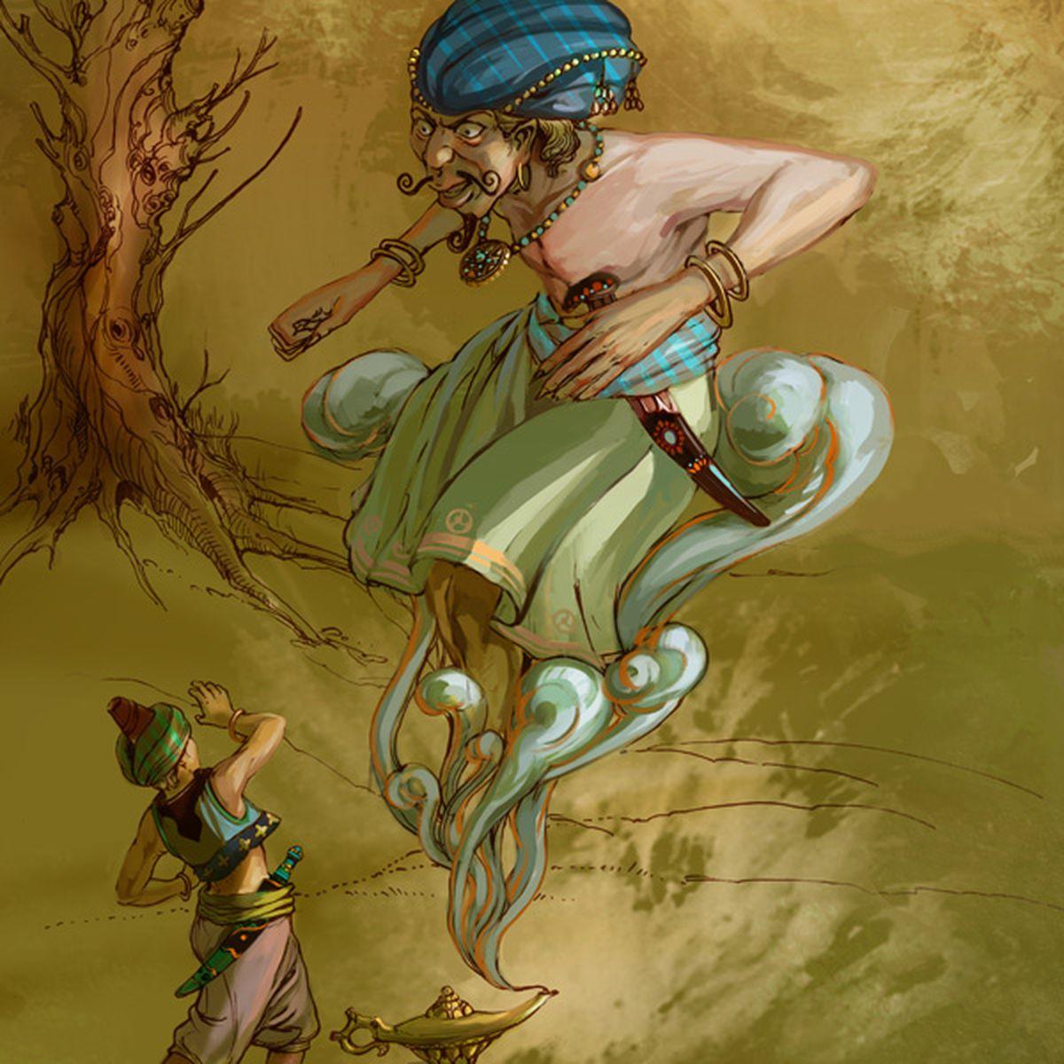 Ali-Baba et Aladin |