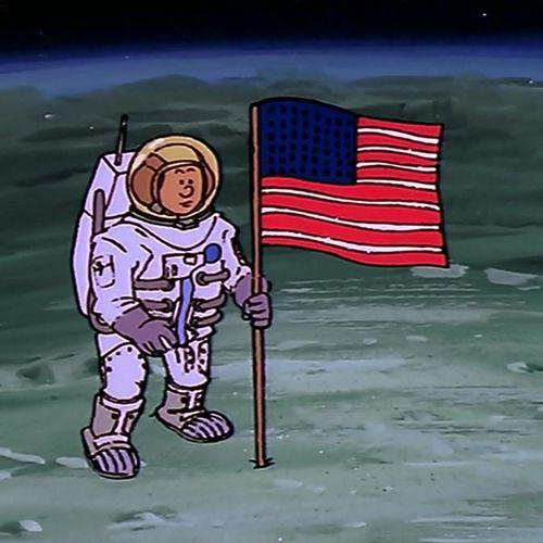 25. Armstrong , la Lune et l'espace | Albert Barillé (directeur)