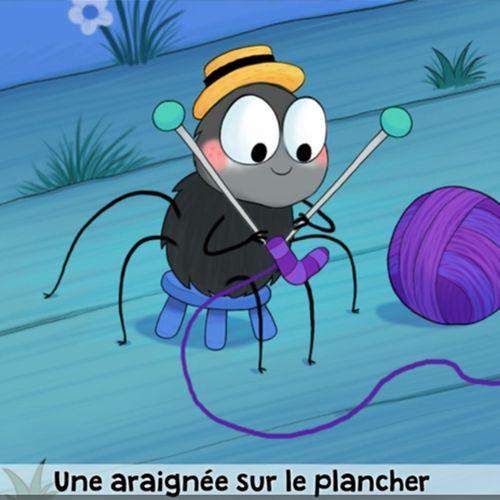 Une araignée sur le plancher | Florence Blanquart (auteur)