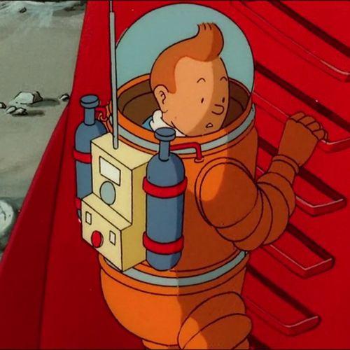 On a marché sur la lune - Partie 1 | Hergé (auteur)