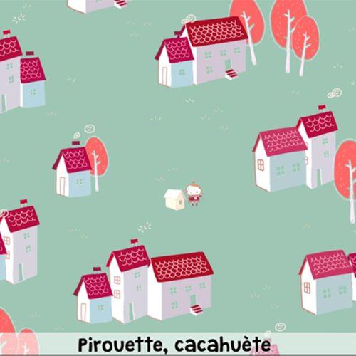 Pirouette, cacahuète | Aline Faucoulanche (illustrateur)